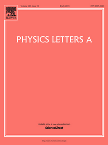 Physics Letters A